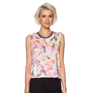 Chaser Candy Heart Nordstrom Tank Top